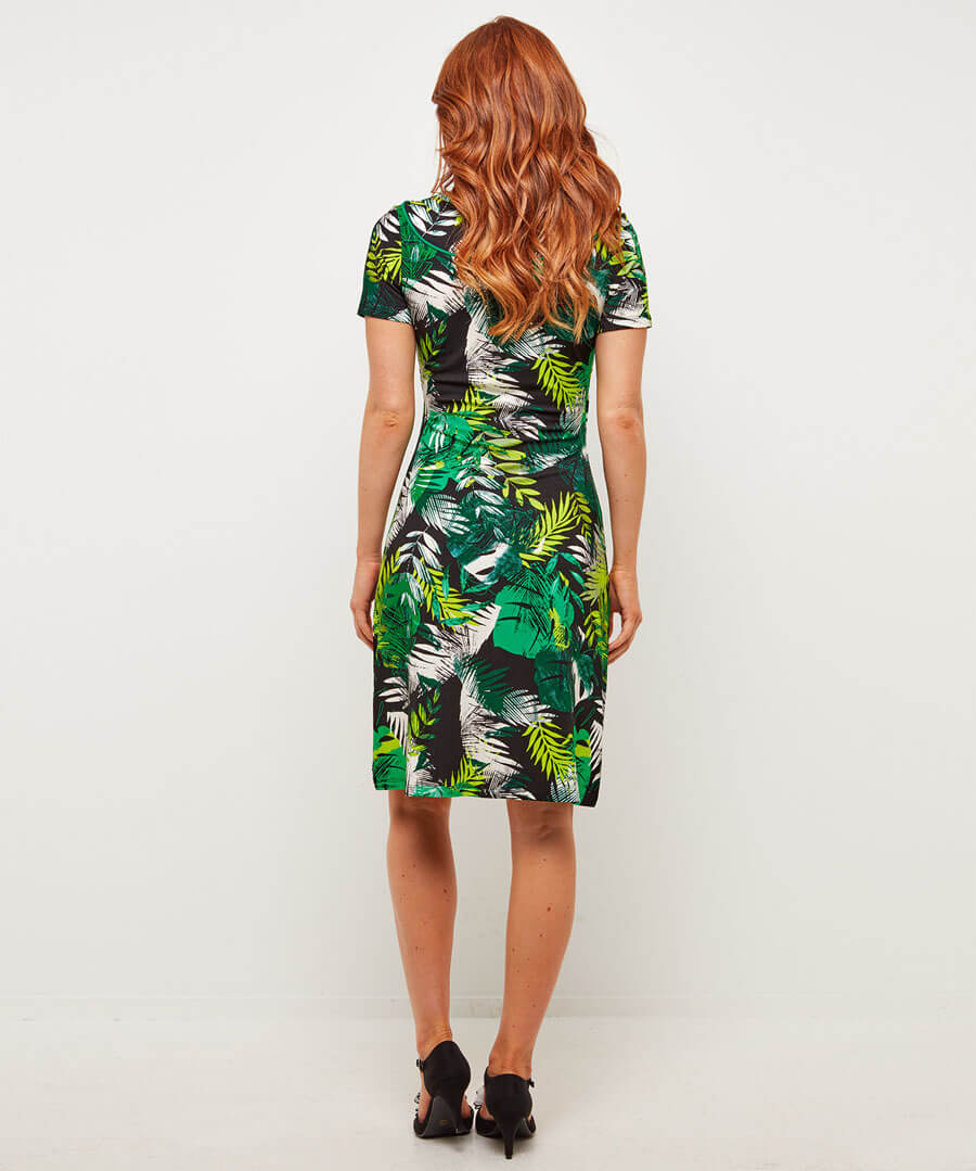 Mexicana Dress Model Back