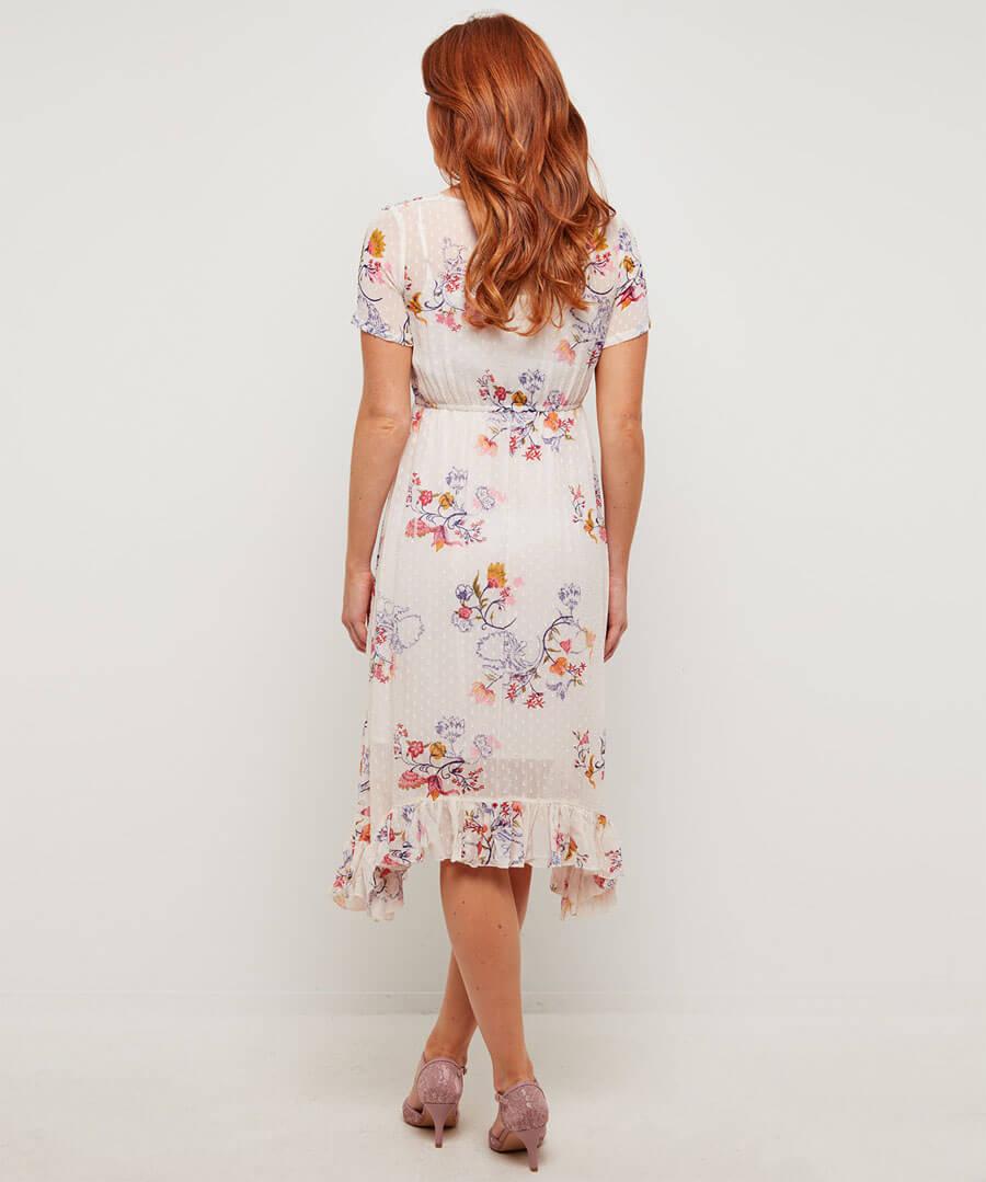 Bountiful Bouquet Dress Model Back