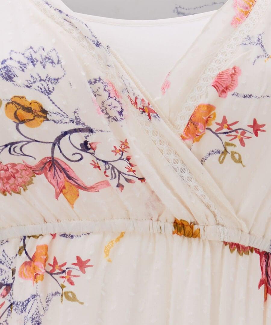 Bountiful Bouquet Dress Back