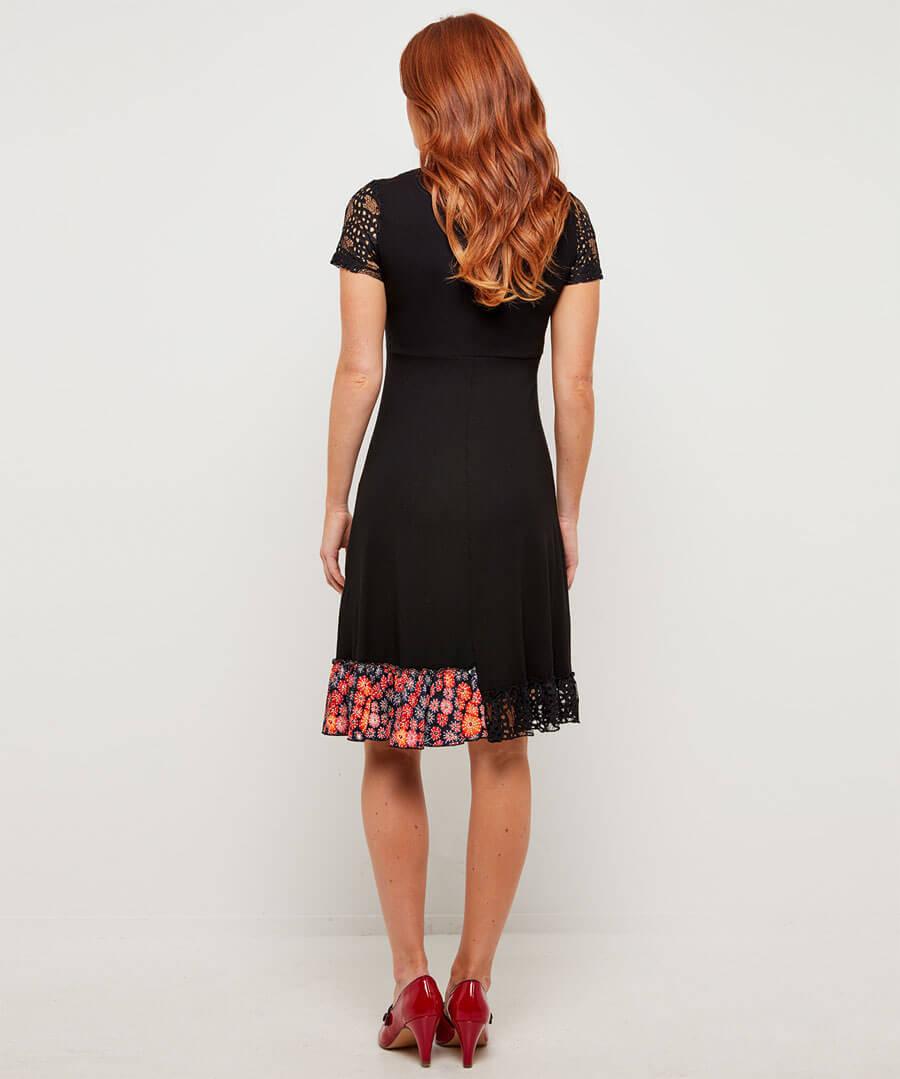 All New Distinctively Different Dress Model Back
