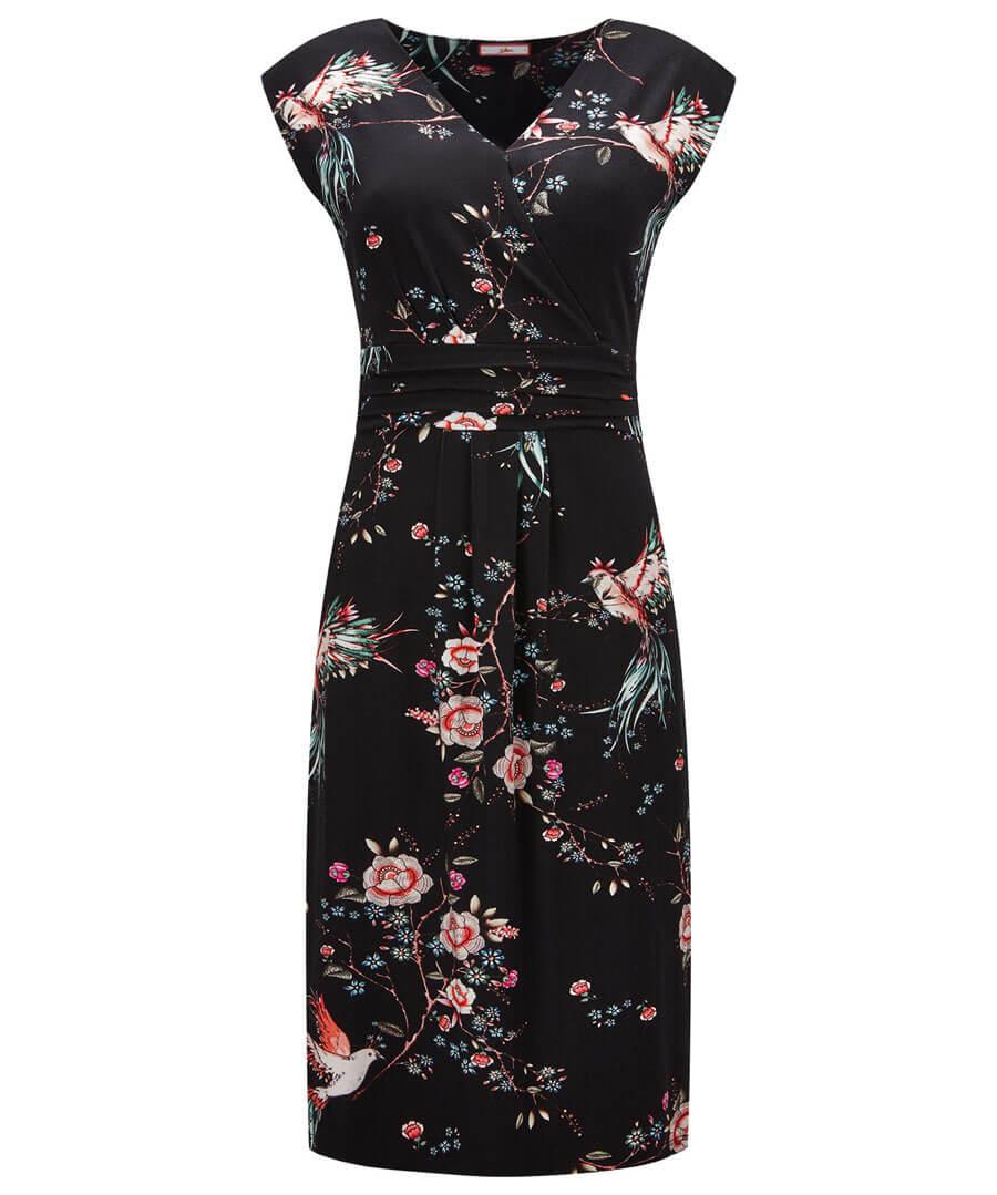 New Amazing Print Dress Model Front