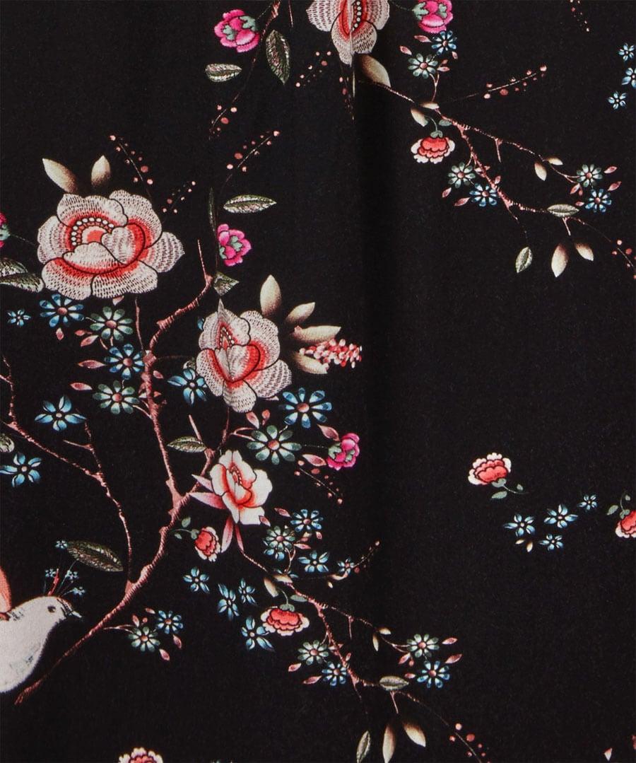 New Amazing Print Dress Back