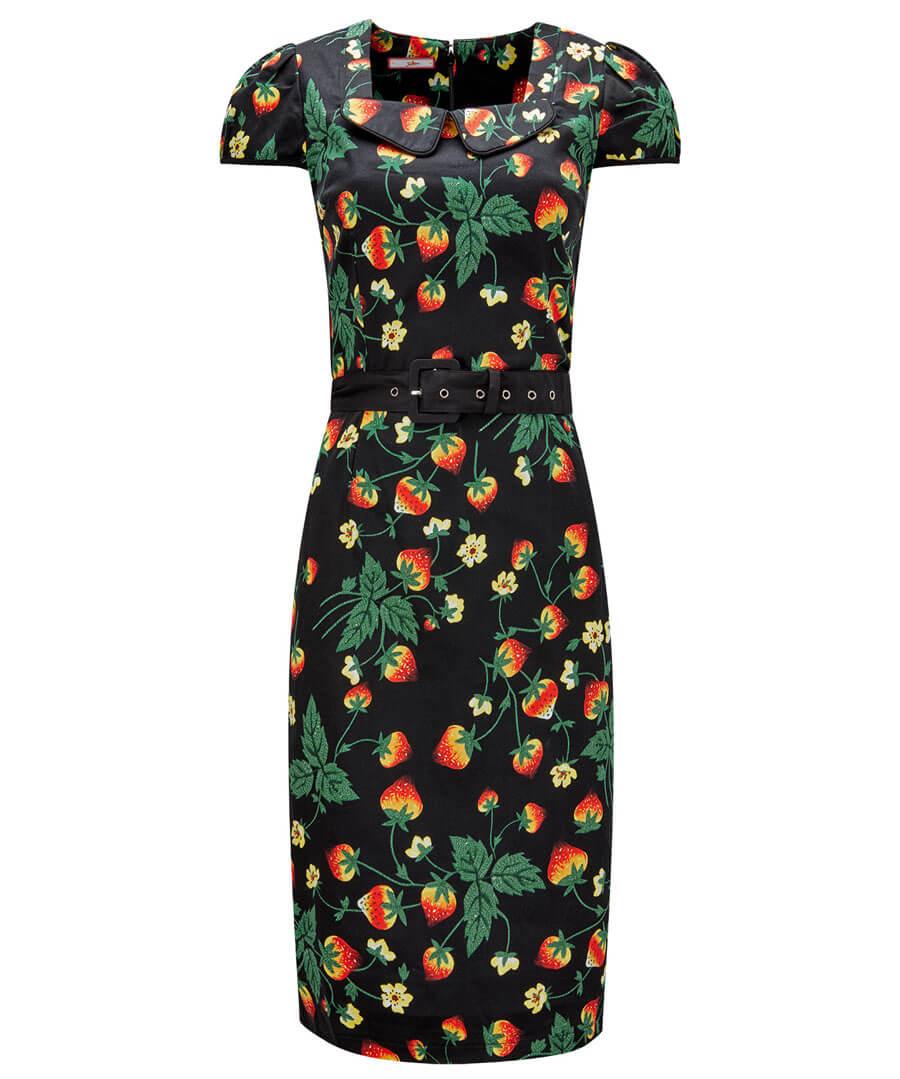 Strawberry Dream Dress Model Front