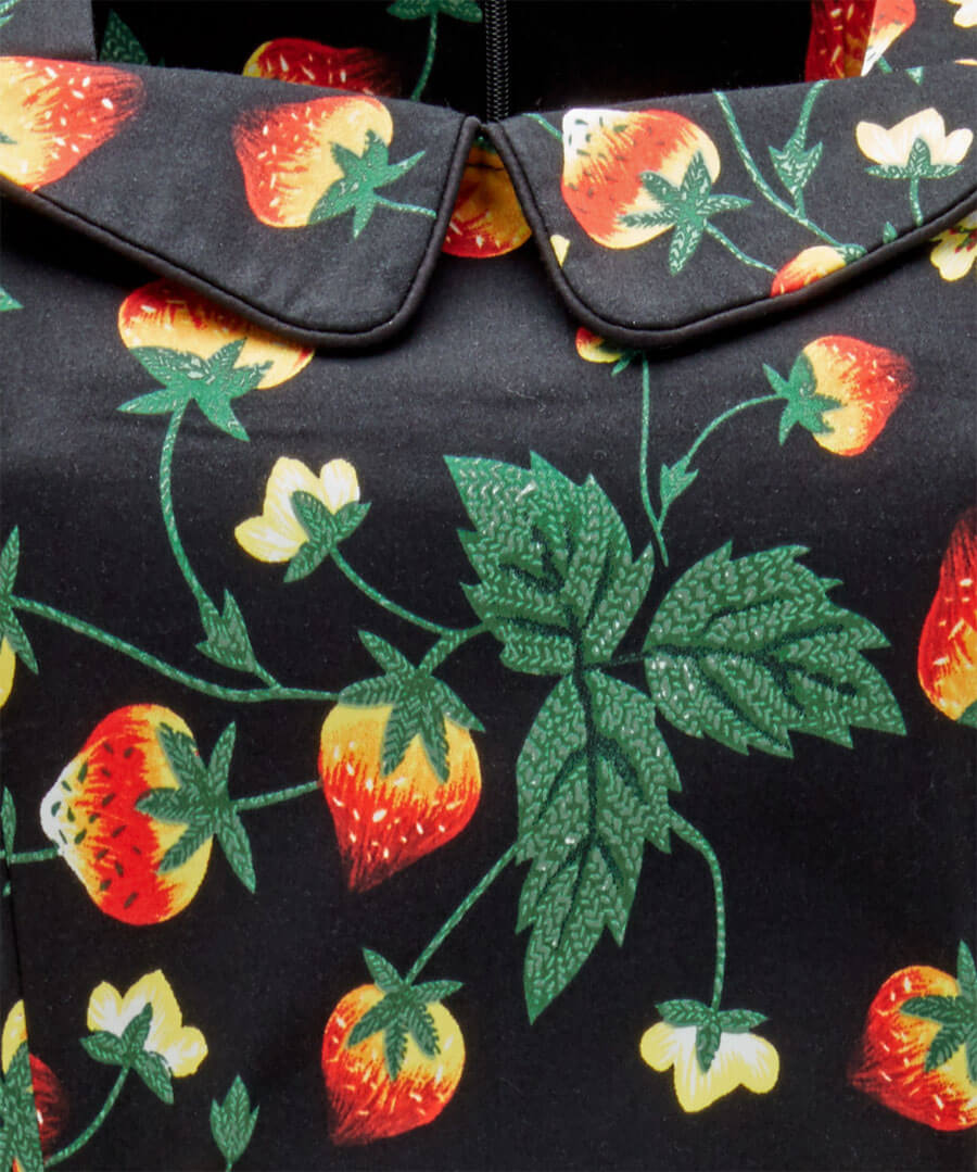 Strawberry Dream Dress Back
