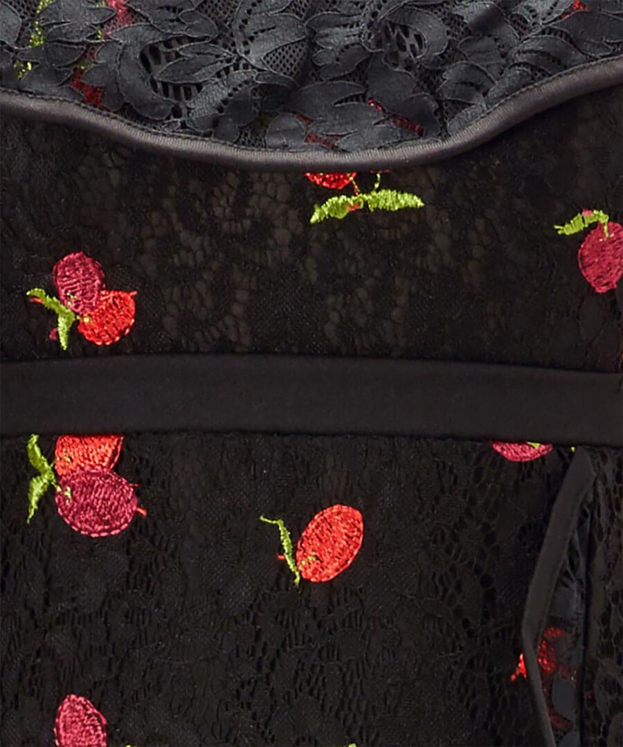 Fruity Flamenco Lace Dress Back