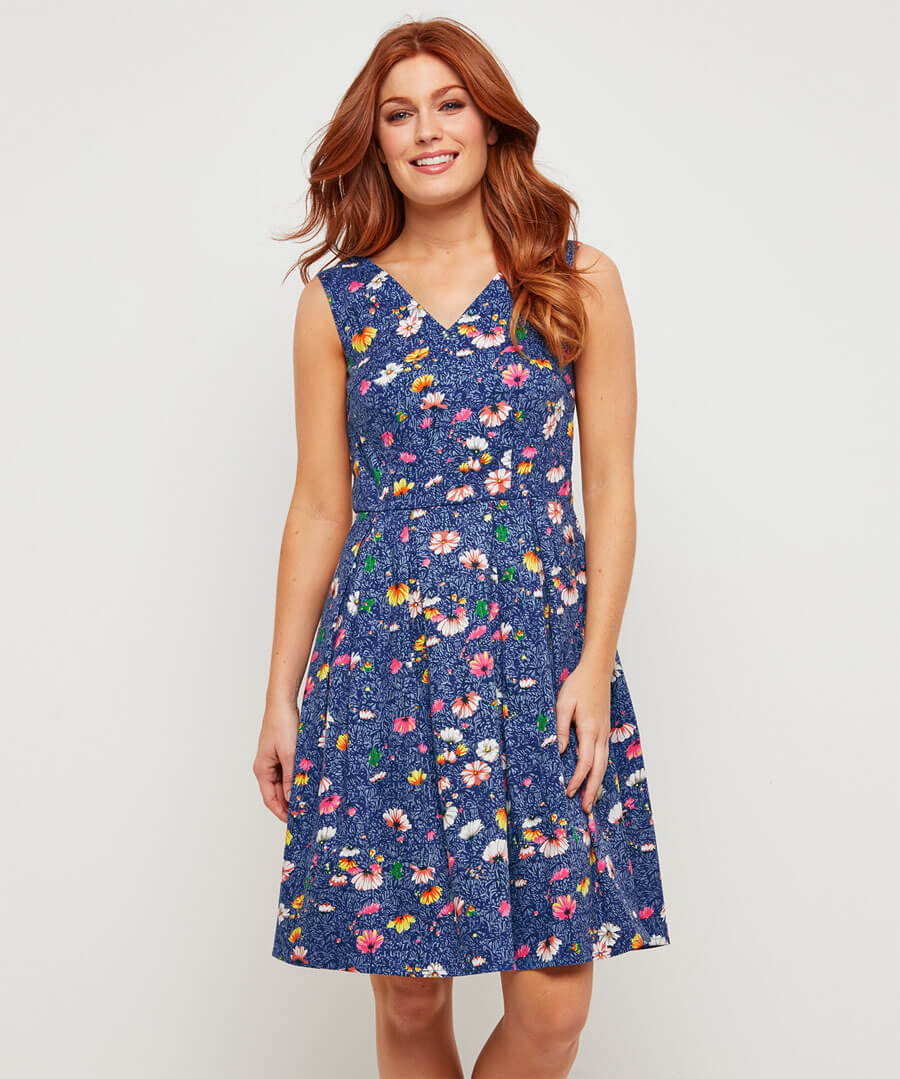 Fancy Floral Dress