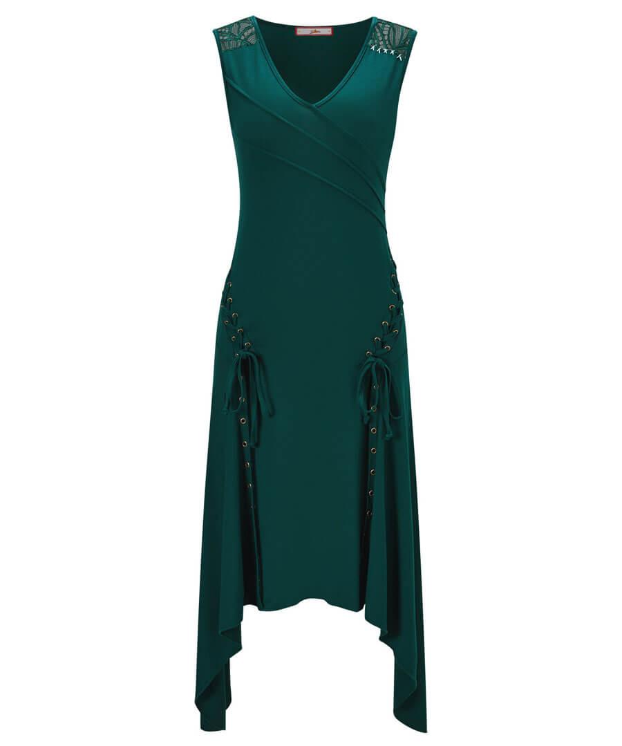 Eclectic Mix Dress Model Front