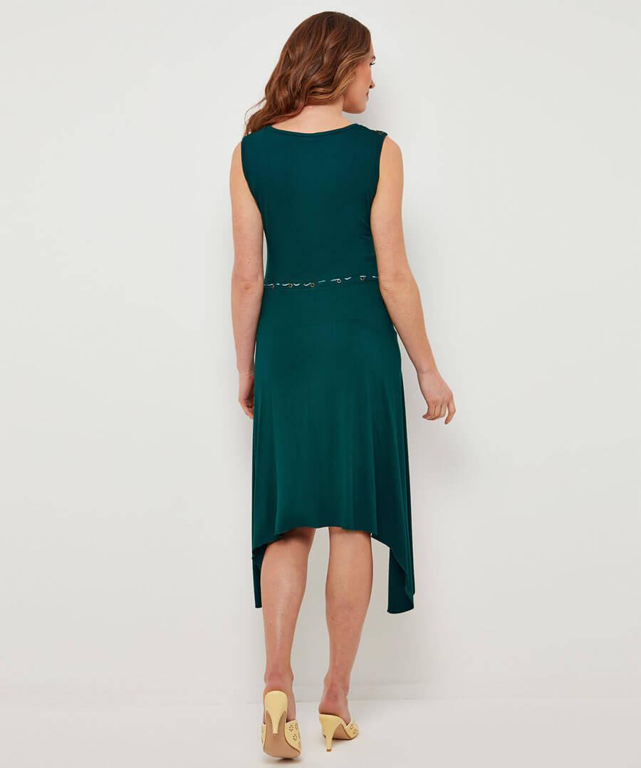 Eclectic Mix Dress Model Back