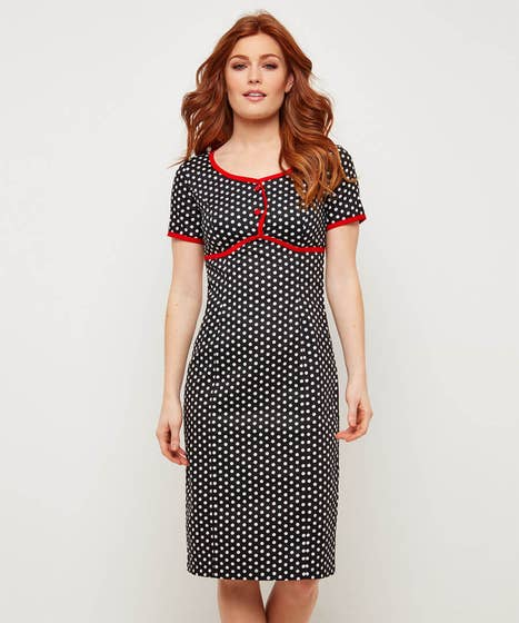 Passionately Polka Dot Dress