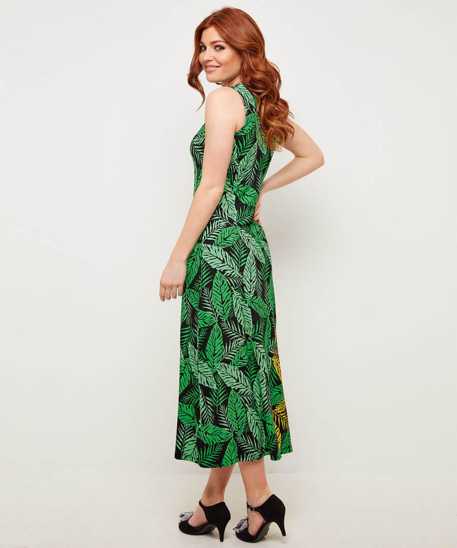 Hit The Sands Dress Model Back