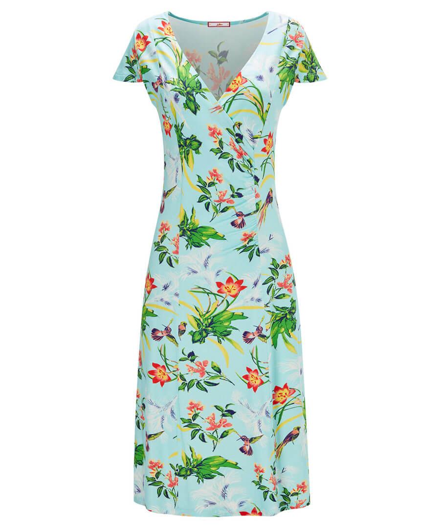 Sizzling Tropics Dress Model Front