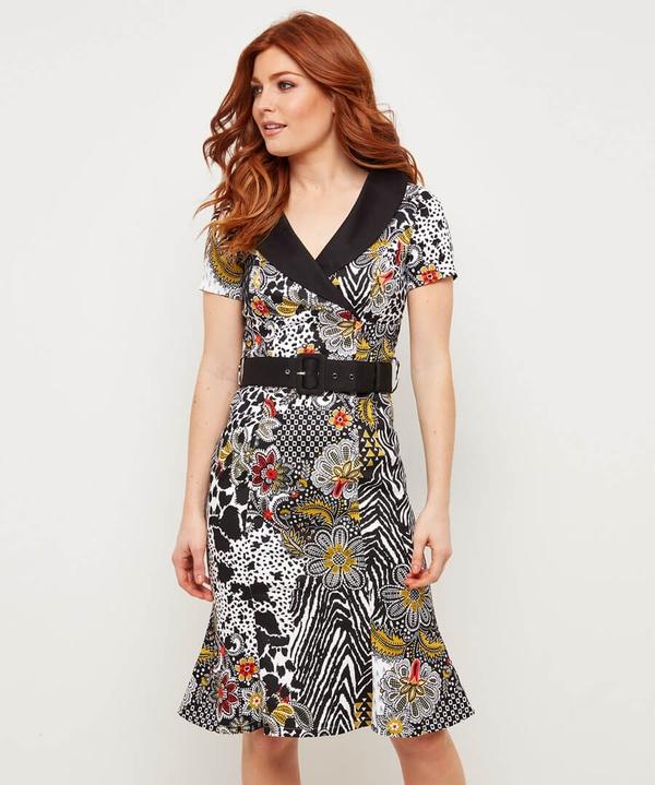 Vintage Animal Dress