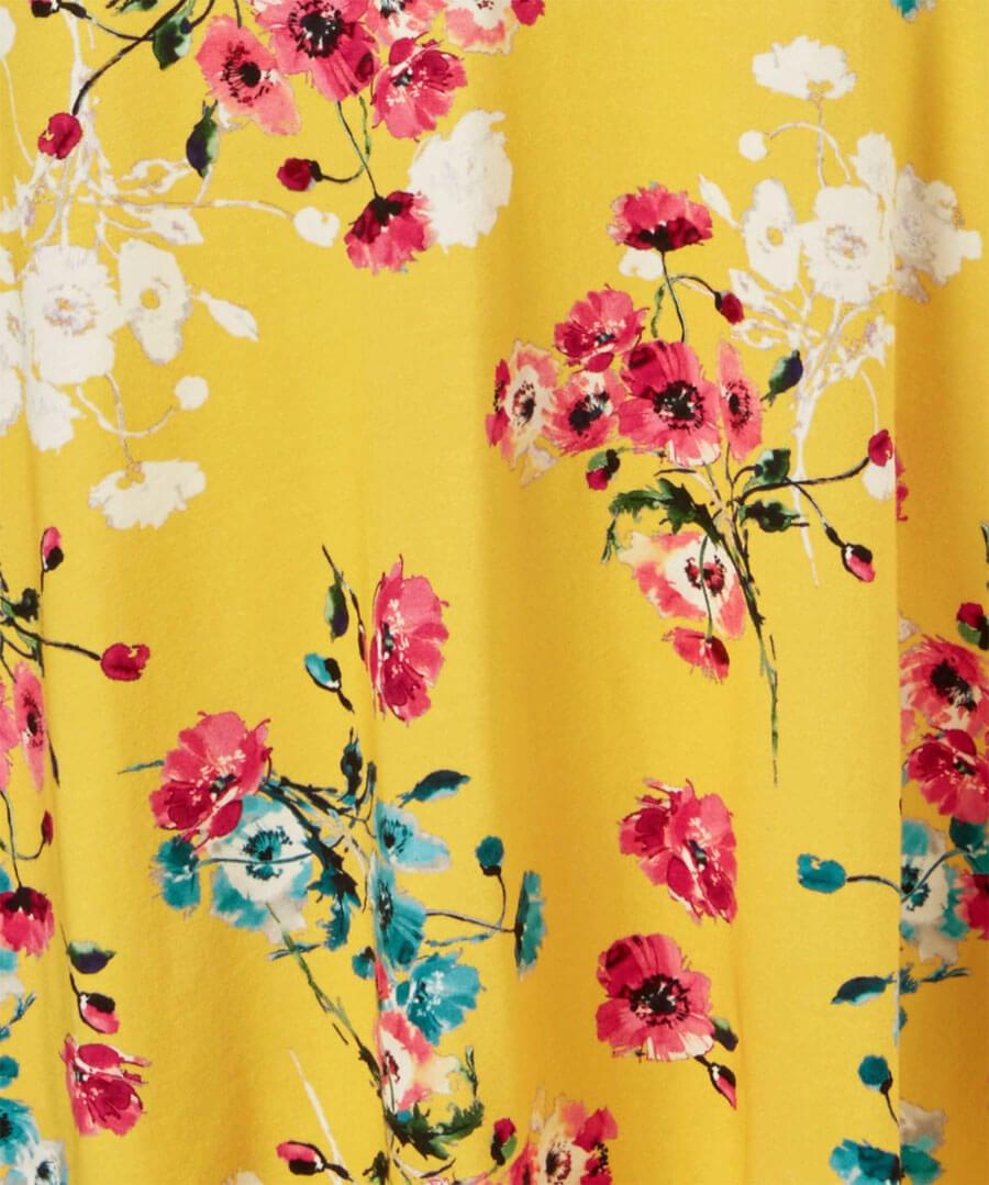 Mellow Floral Dress Back
