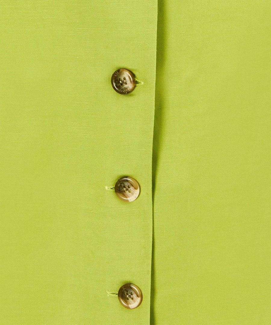 Lovers Lime Dress Back