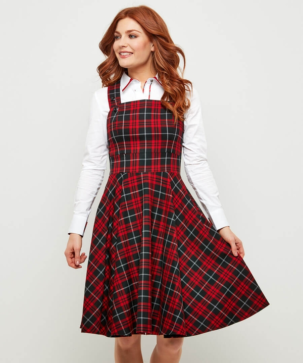 Pretty Pinafore Dress