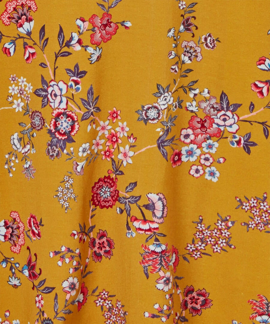 Dainty Floral Dress Back