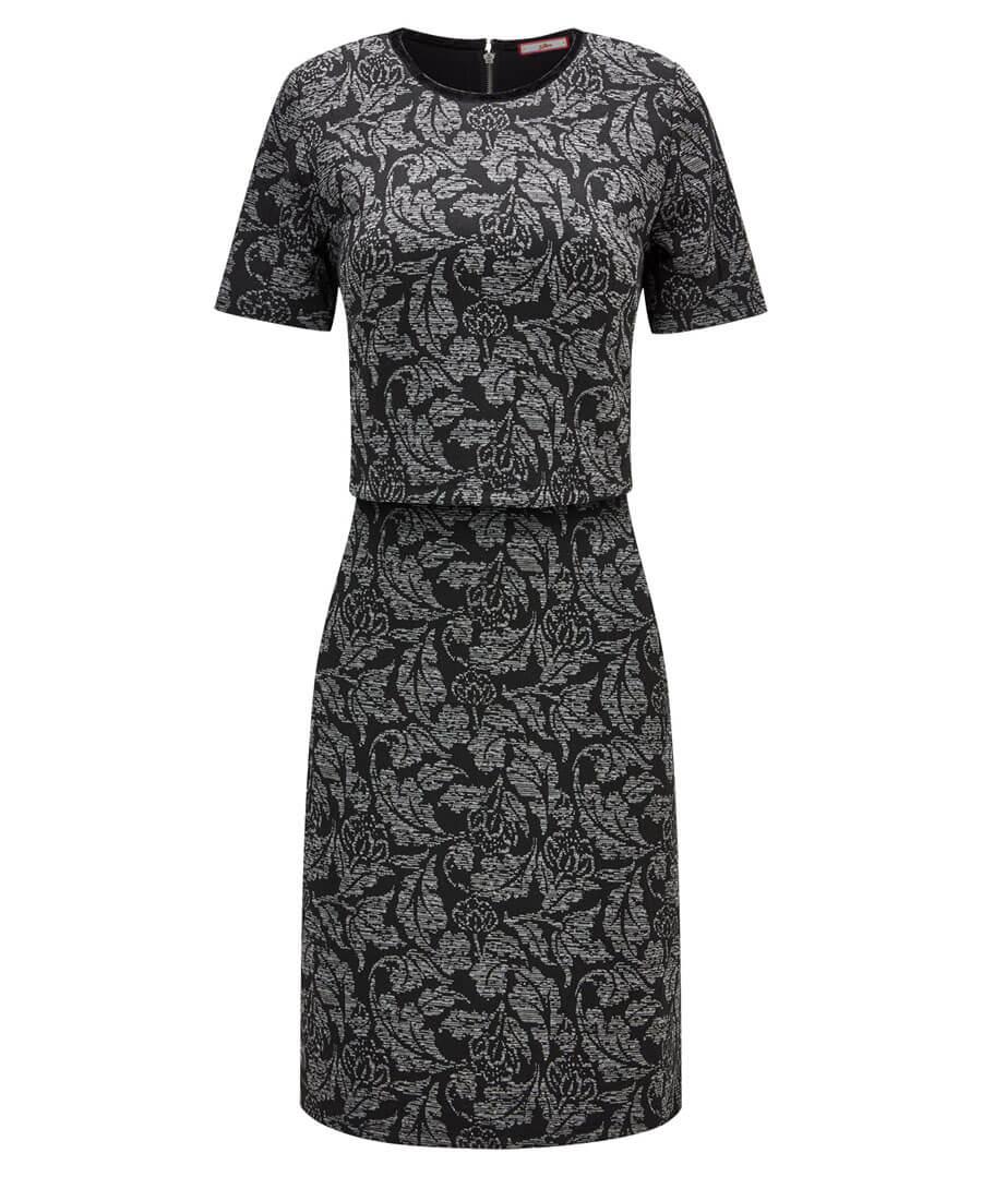 2 In 1 Jacquard Dress Model Front