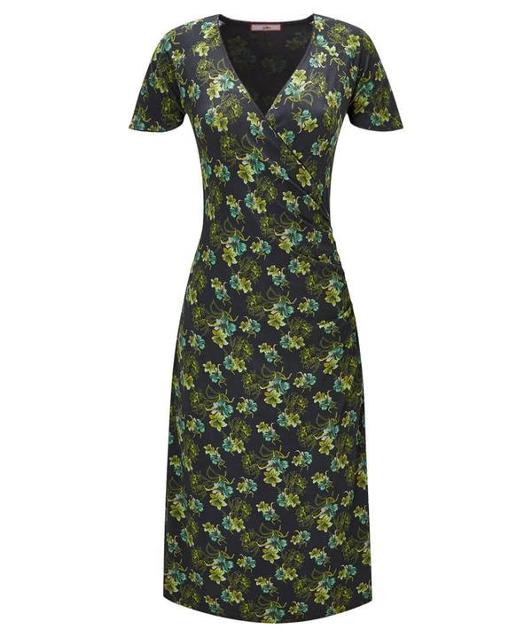 Floral Wrap Style Dress
