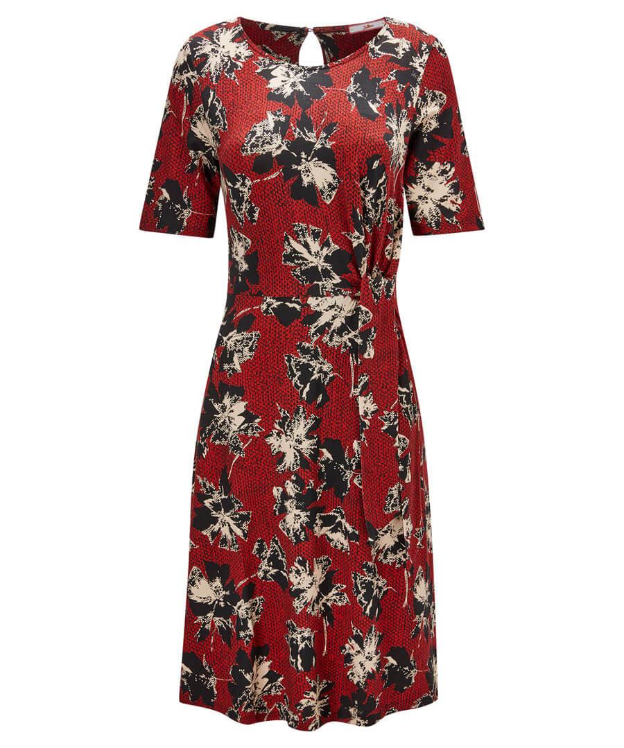 Marvellous Printed Dress Model Front