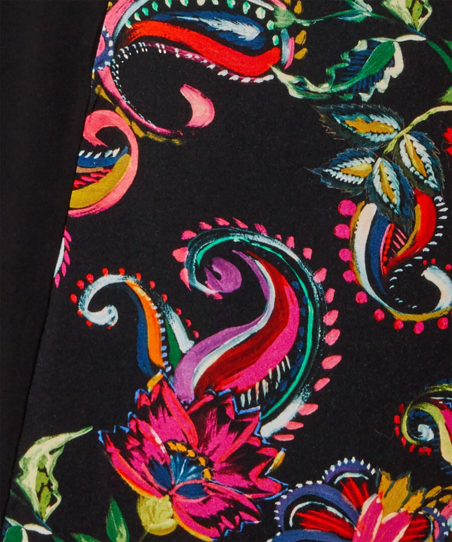 Pop Of Print Dress Back