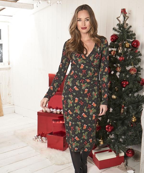 Lovely Robin Christmas Dress