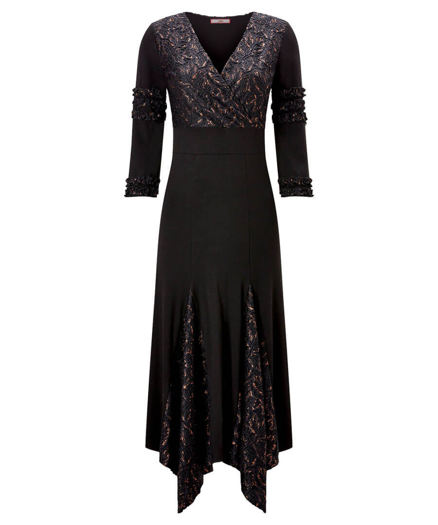 Dippy Hem Party Dress