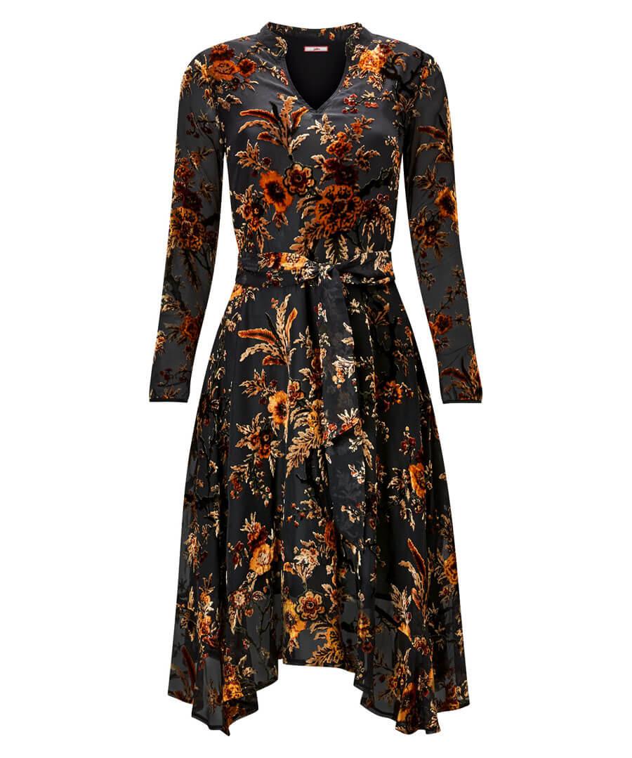 Elegant Devore Dress