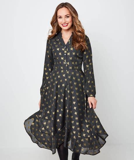 Beautiful Butterfly Dress