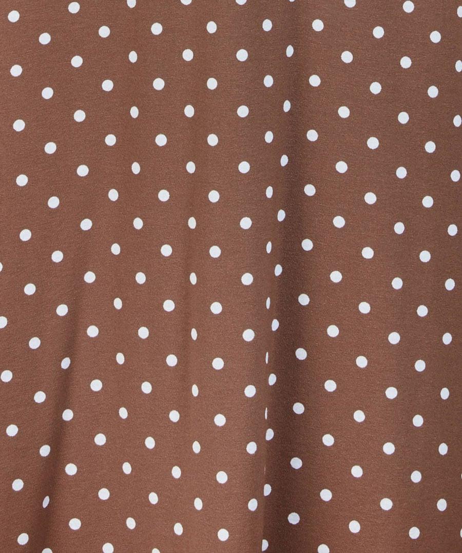 Perfect Polka Dot Dress Back