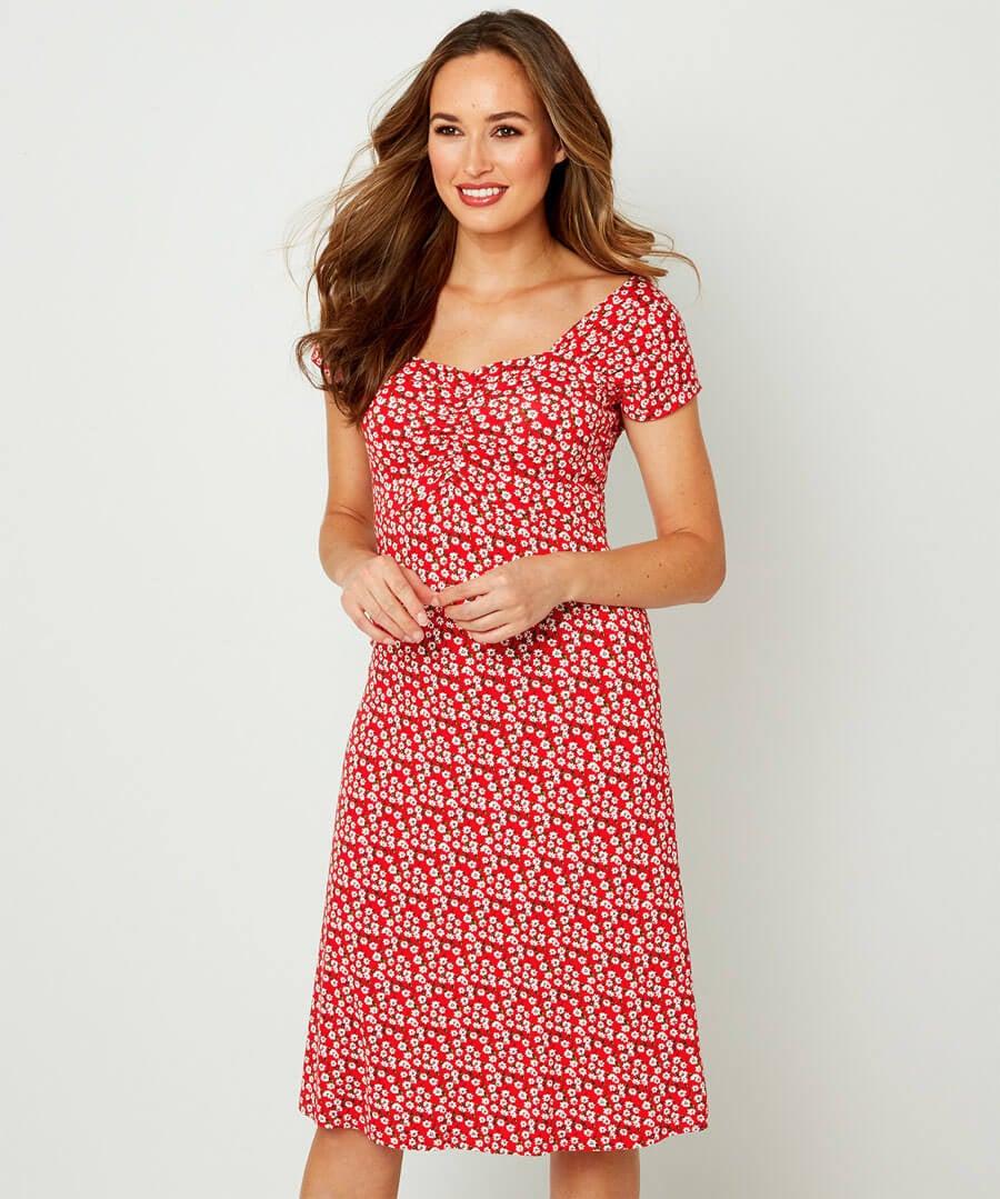 Easy Love Dress Model Front