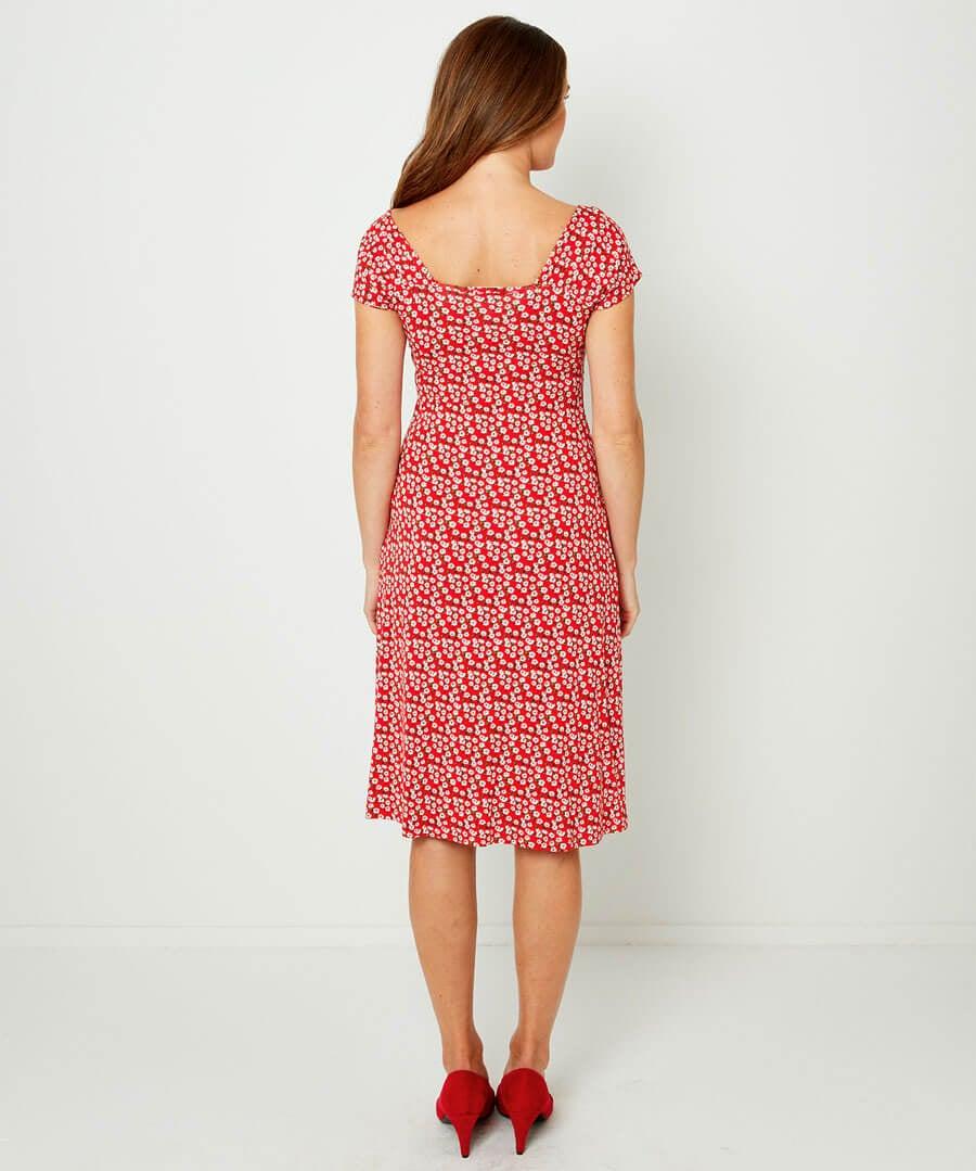 Easy Love Dress Model Back