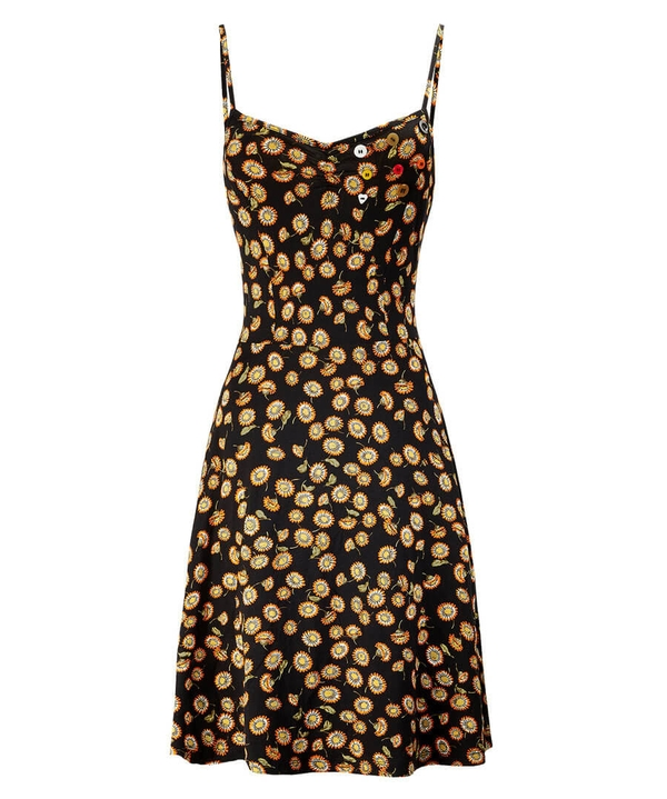 Mellow Floral Dress