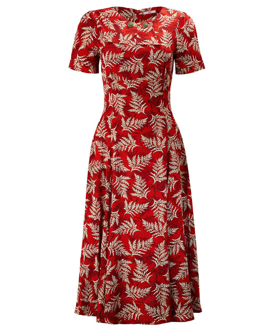 1950s Style Clothing & Fashion Fabulous Vintage Collar Dress $45.00 AT vintagedancer.com