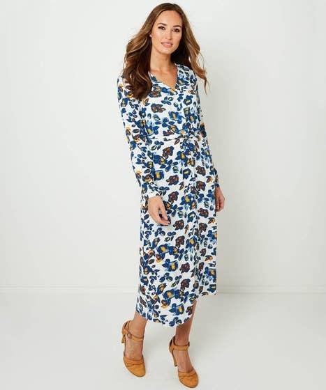 Floral Button Through Dress