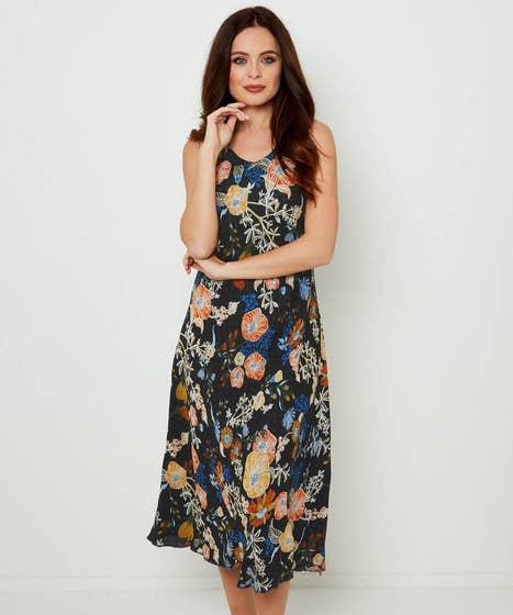 Polka Dot Reversible Dress