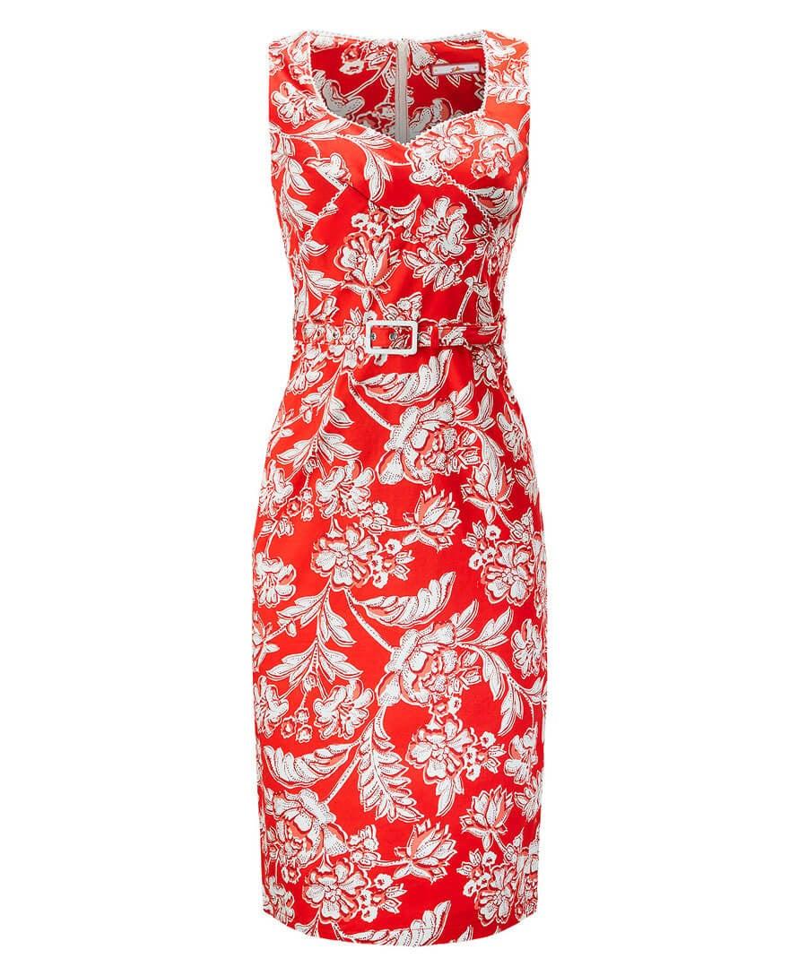 Belted Vintage Dress