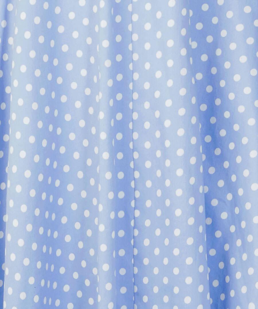 Vintage Polka Dot Dress Back
