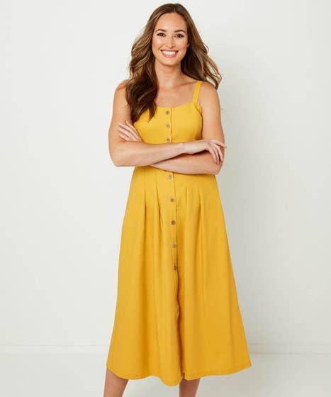 Beautiful Button Through Dress