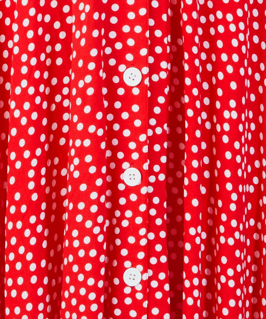 Flattering Button Through Dress Back