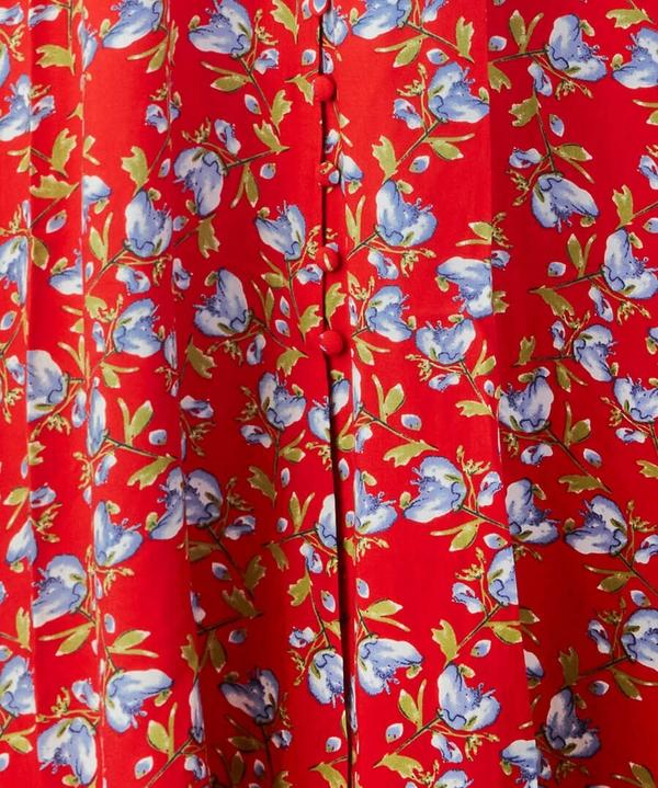 Button Through Vintage Dress