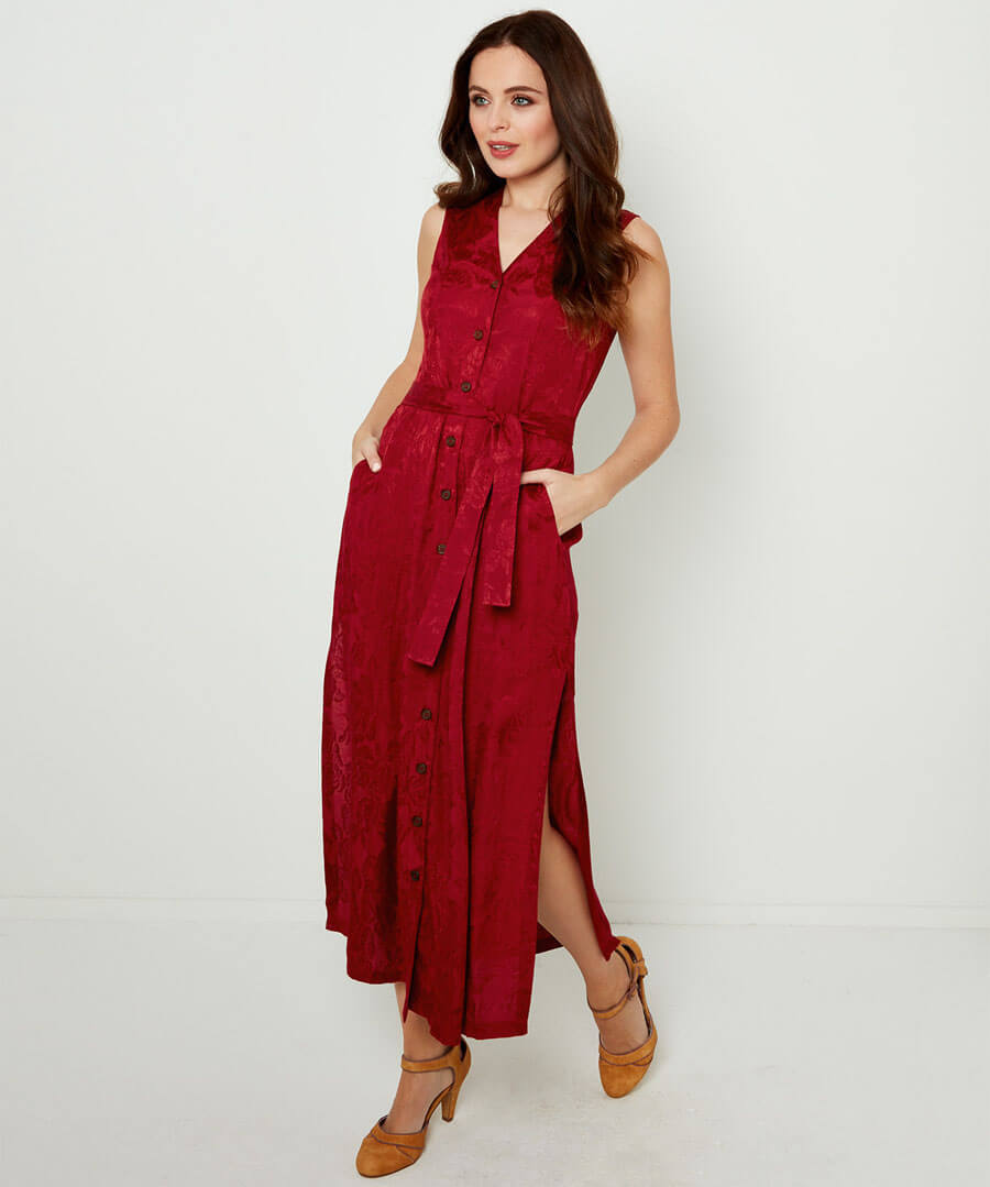Rich Jacquard Dress