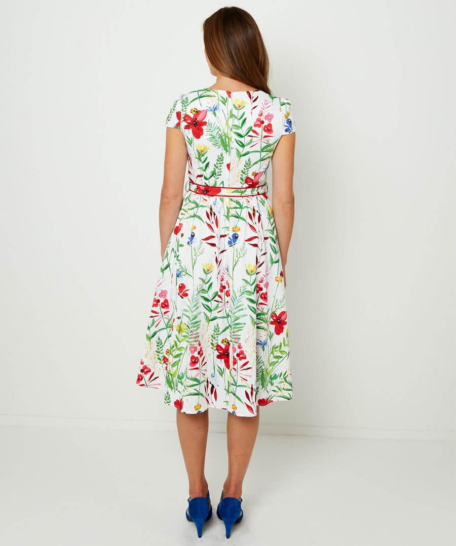 Garden Party Dress Model Back