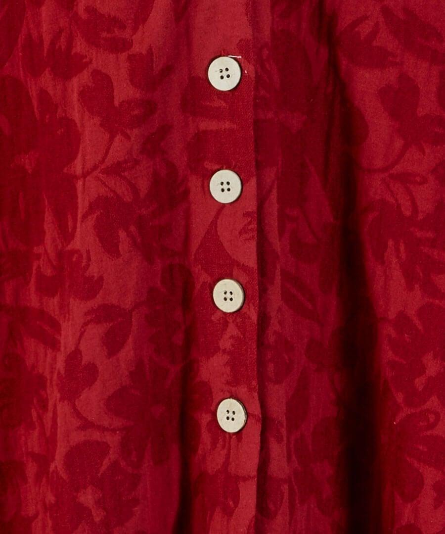 Jovial Jacquard Dress Back