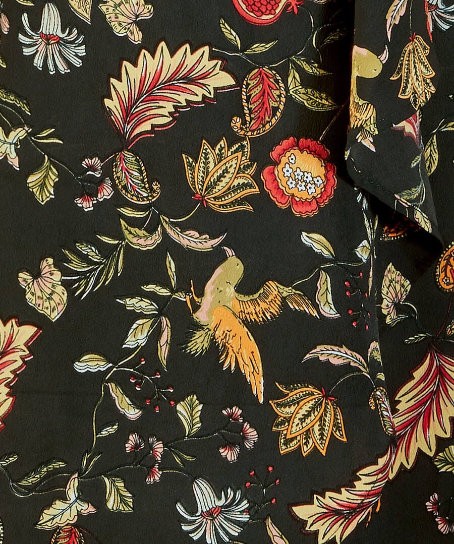 Birds Of Paradise Dress Back