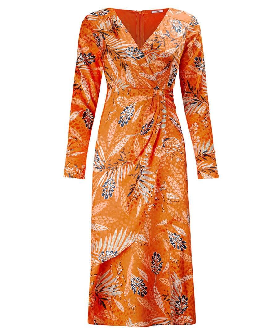 Elegant Wrap Dress