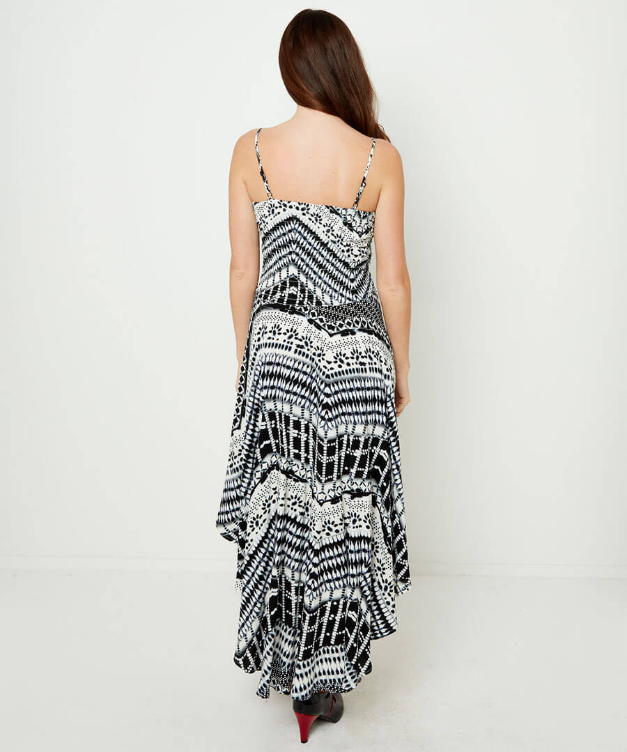 Our Favourite Strappy Dress Model Back