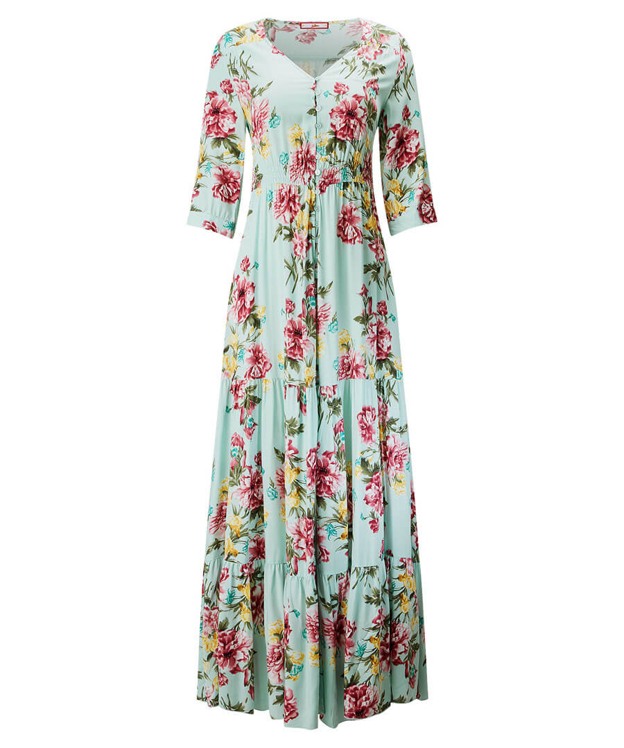 Tantalising Tiered Dress