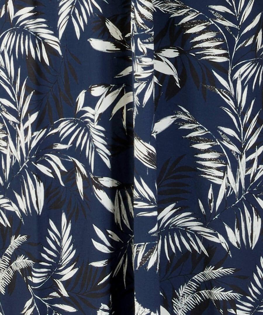Printed Maxi Dress Back
