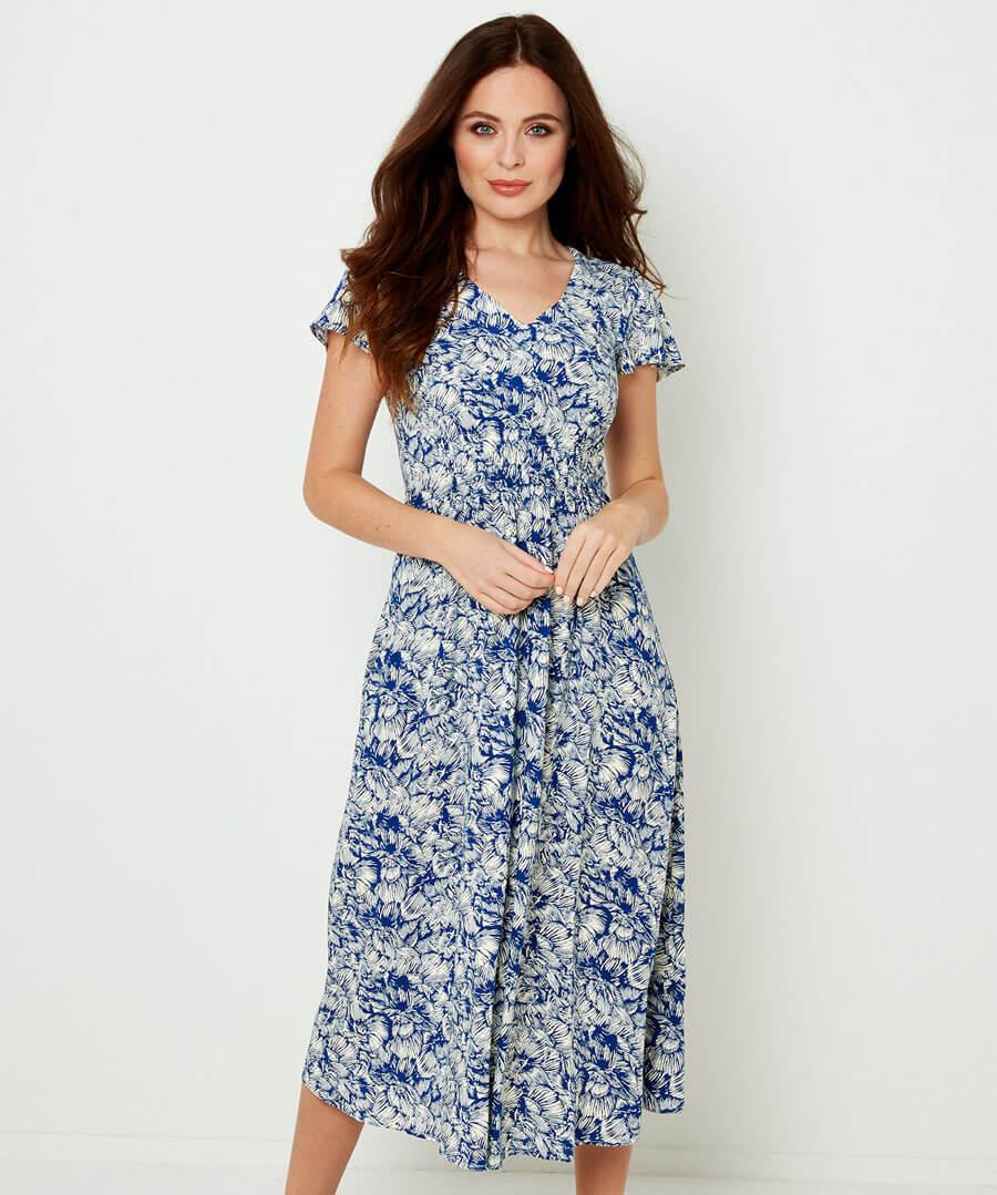 Elegant Summer Dress Model Front