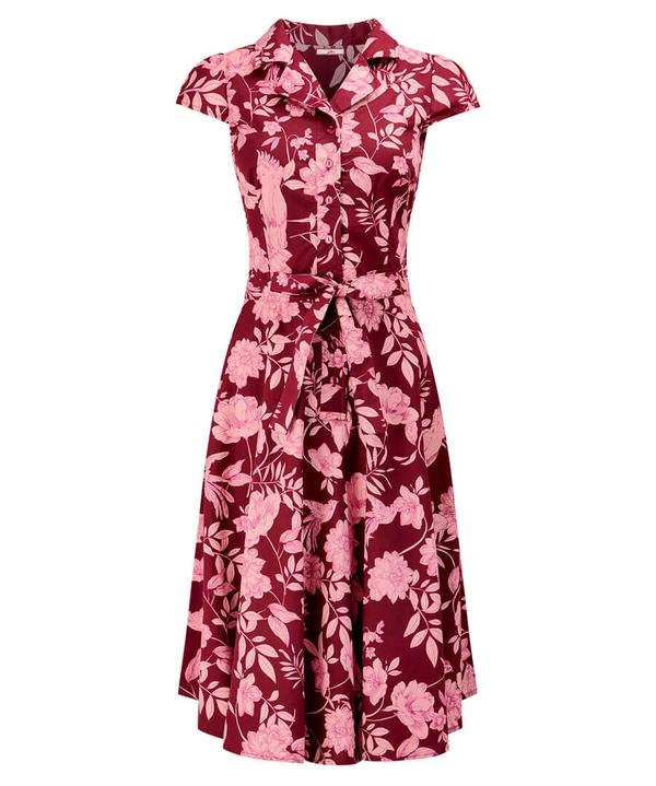 Unique Print Shirt Dress